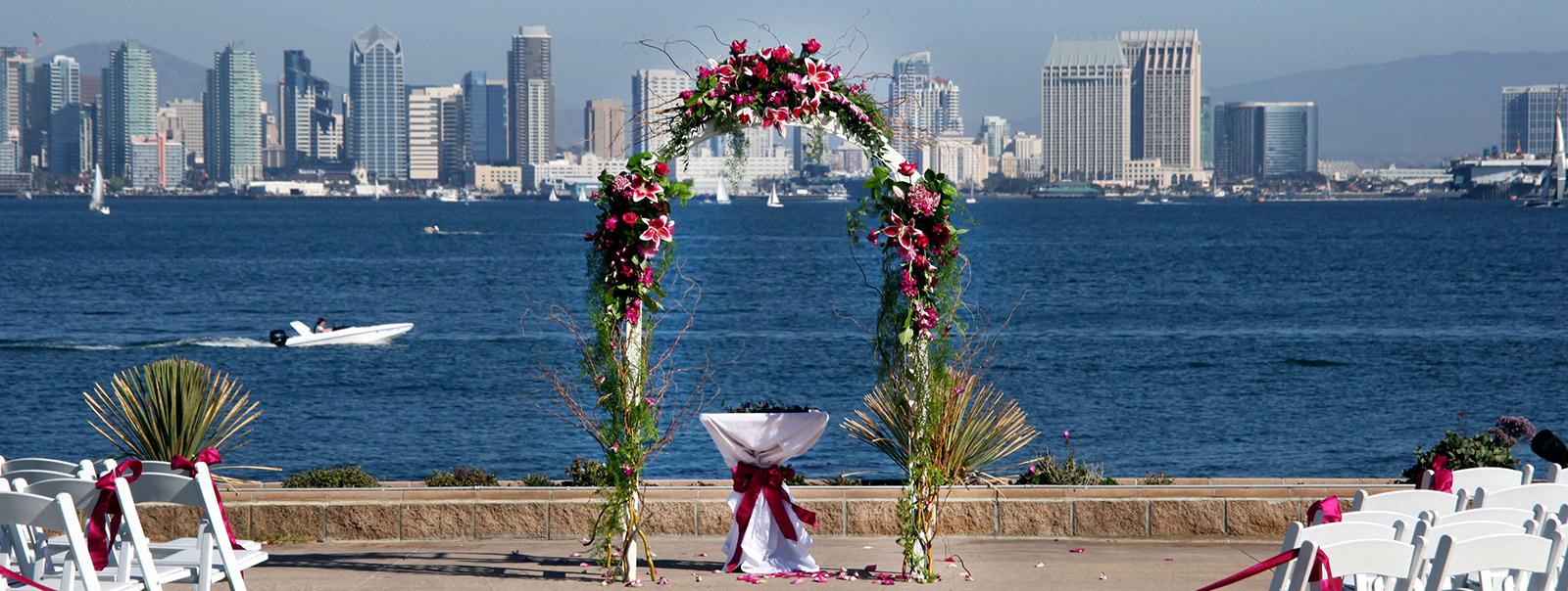 san diego great outdoor wedding location