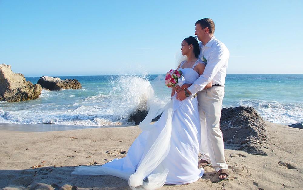 San Go Beach Wedding Location